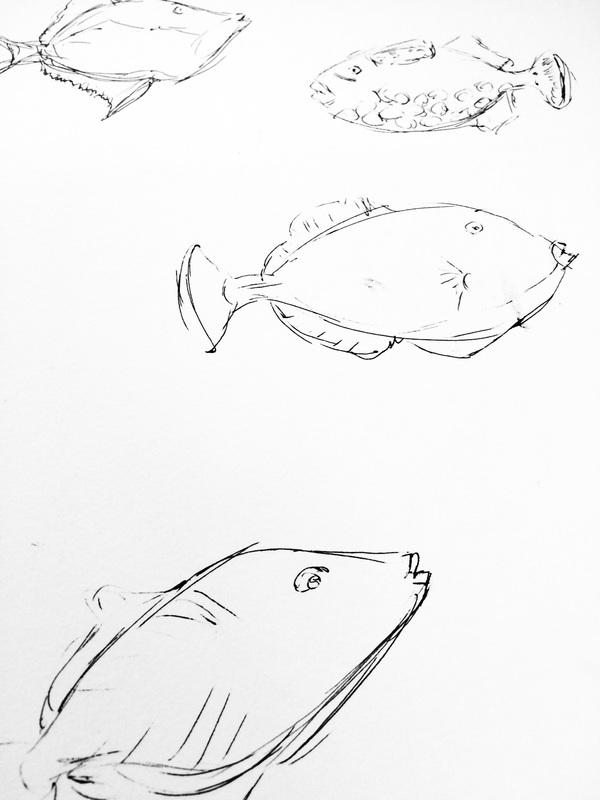 600x800 Tropical Fish Pattern