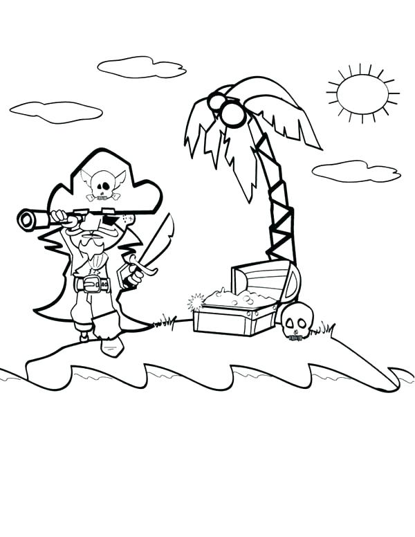 600x776 Island Coloring Page Island Coloring Page Island Red Coloring Page