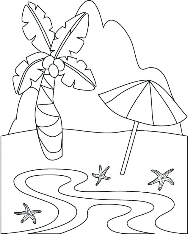 632x786 Island Coloring Page Tropical Island Coloring Pages Coloring Pages