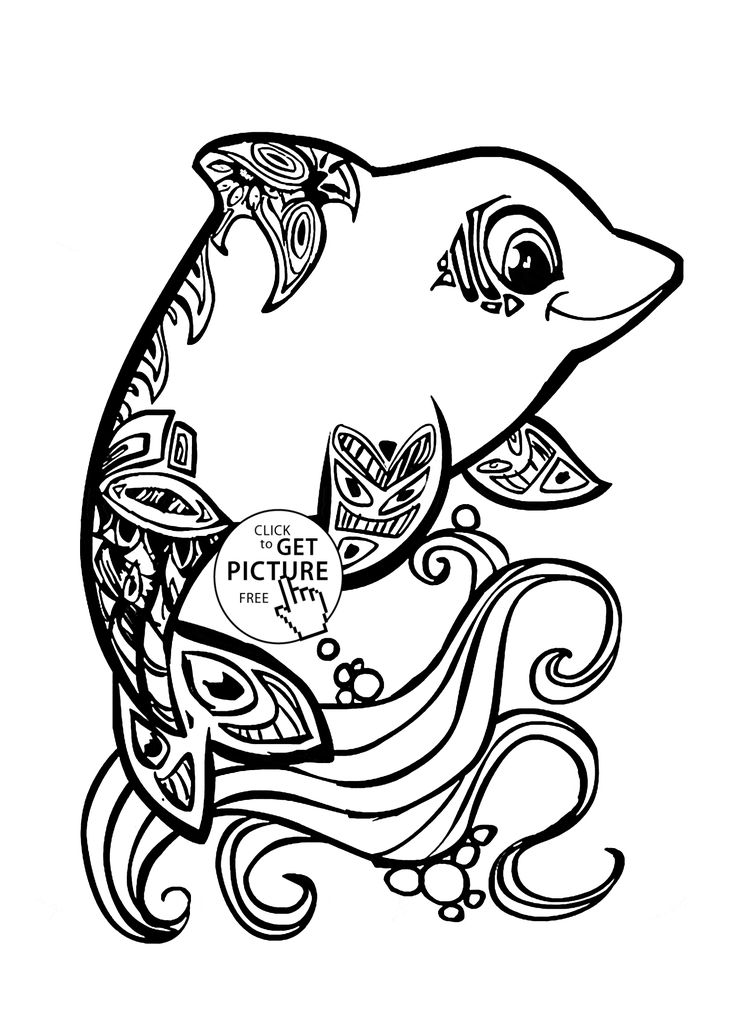 Trout Drawing Black And White At Getdrawingscom Free For Personal