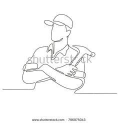 236x246 Illustration Of A Plasterer Masonry Tradesman Construction Worker