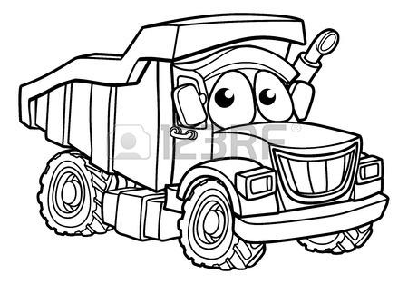 450x313 Dump Tipper Truck Lorry Dumper Construction Vehicle Cartoon