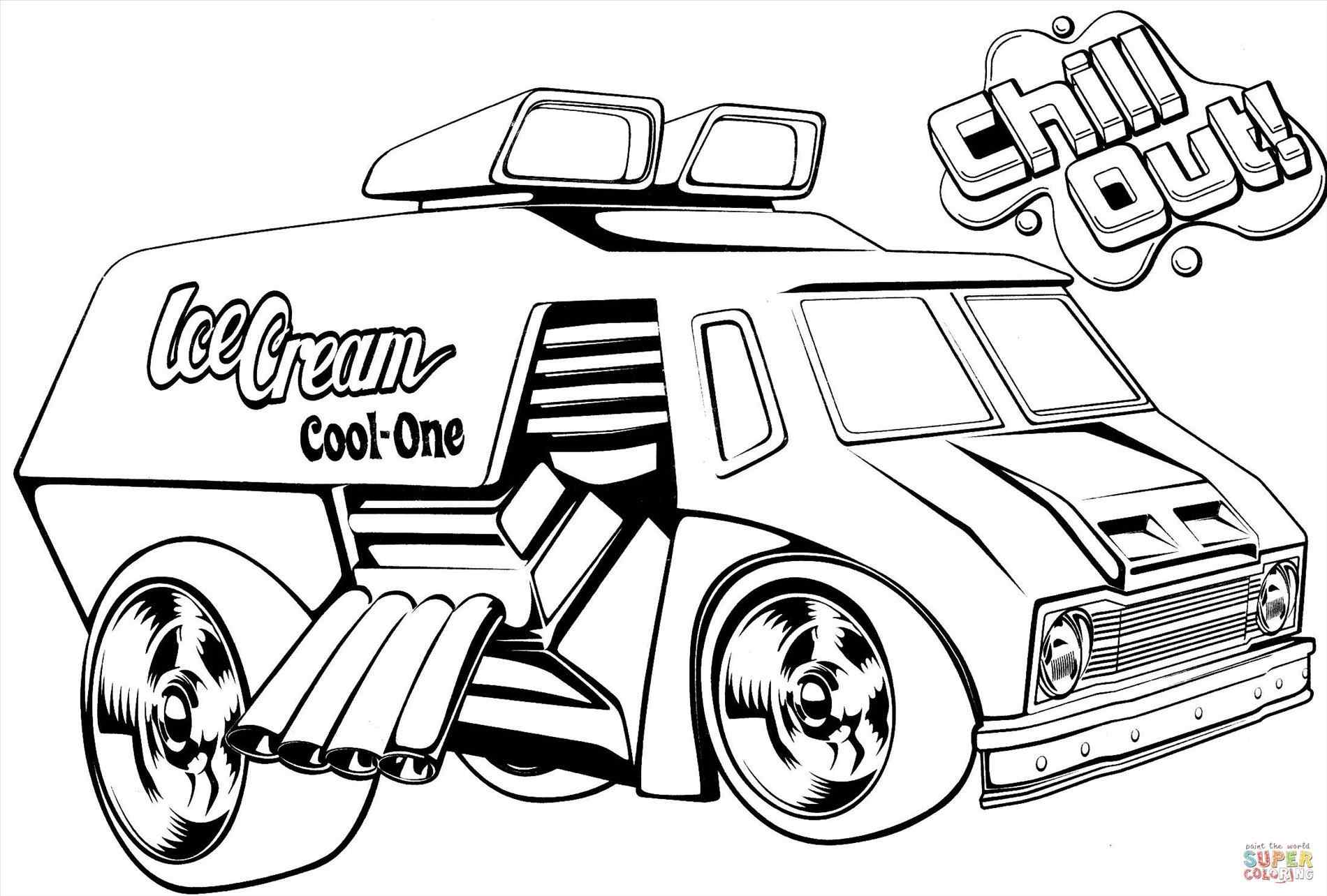 1900x1284 The Images Collection Of With Beautiful Ice Cream Truck Coloring