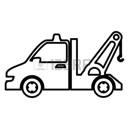 450x450 Truck Crane Icon. Transport Icons Universal Set For Web And Mobile