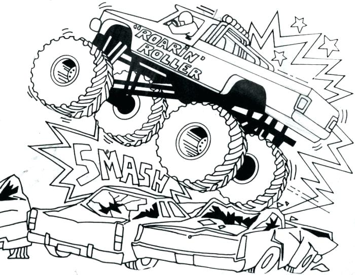 700x543 Truck Coloring Games Bulldozer Monster Truck Coloring Pages