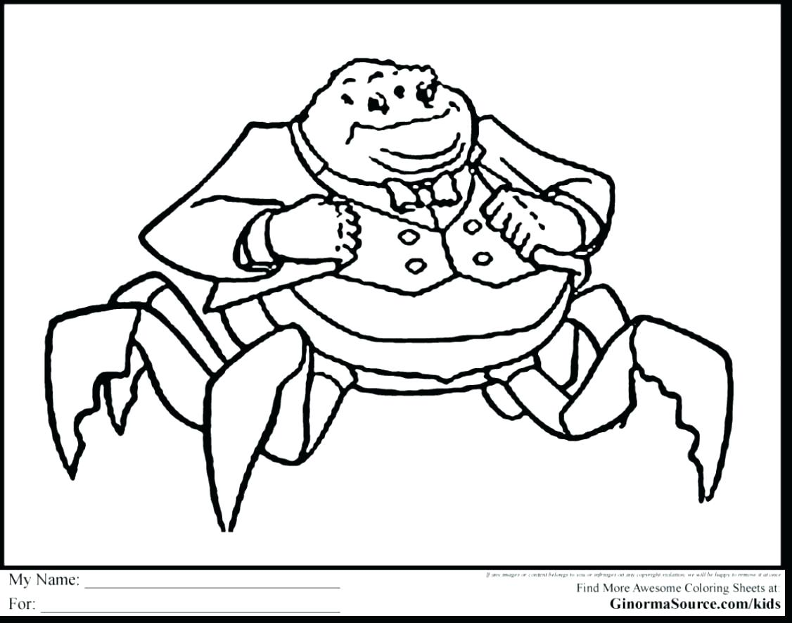 1126x885 Coloring Monster Inc Coloring Pages Extraordinary Monsters