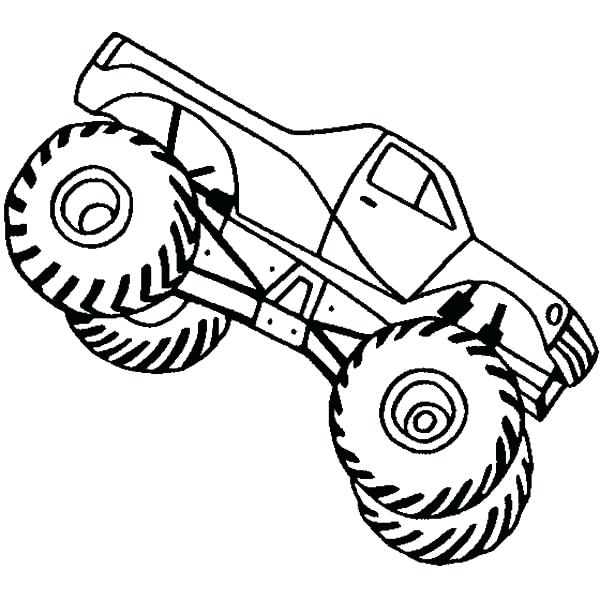 600x600 Monster Trucks To Color And Print Coloring Pages Draw A Monster