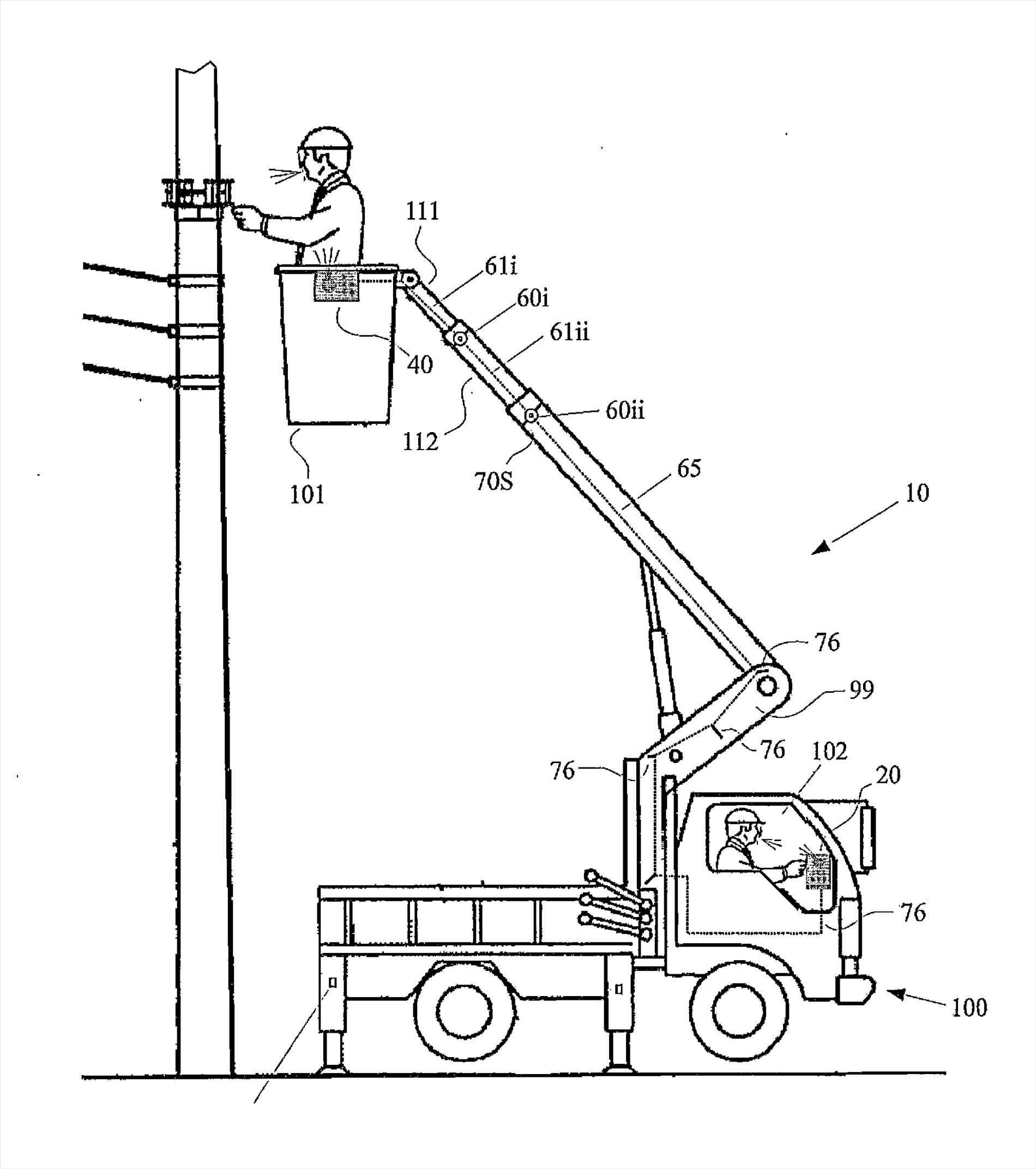 1900x2143 The Images Collection Of Patent Boom Truck Drawing Us Fiber Optic