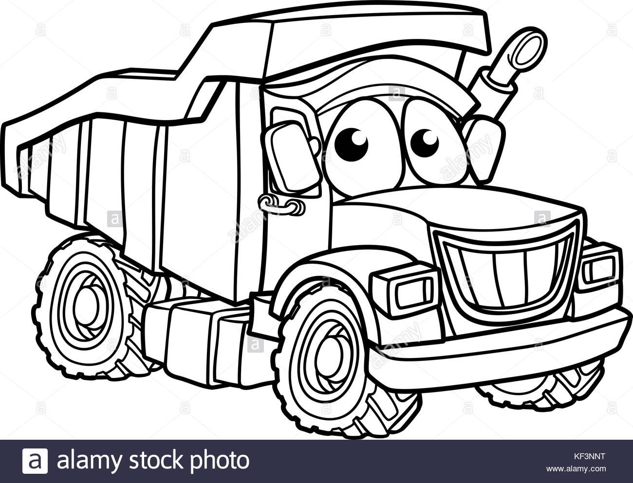 1300x993 Vector Cartoon Cargo Semi Truck Stock Photos Amp Vector Cartoon
