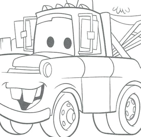 451x439 Mater Coloring Pages Photo Of Gallery Line Drawings Online