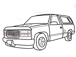 320x240 Line Drawing Chevy Truck Forum Gmc Truck Forum