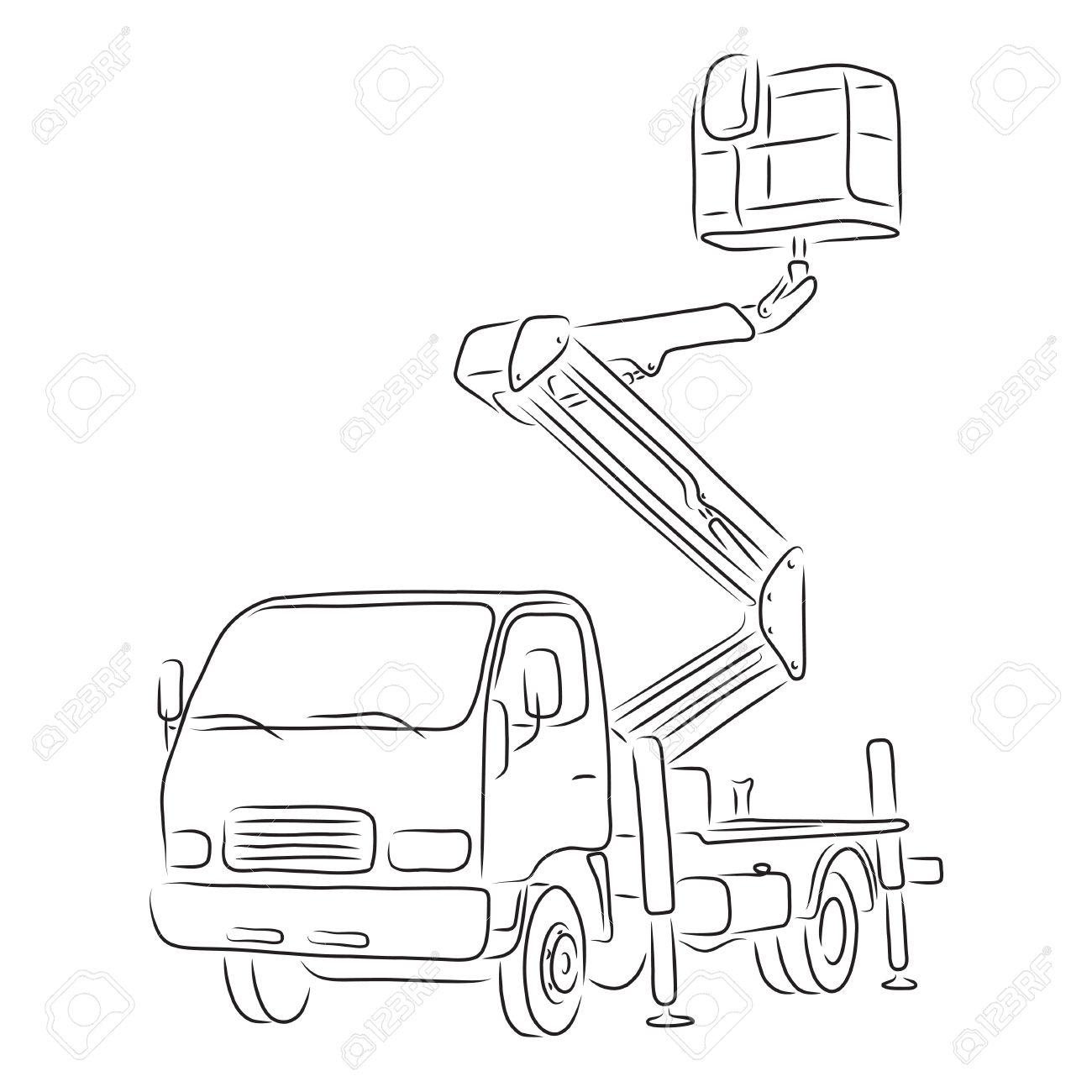 bucket truck in india