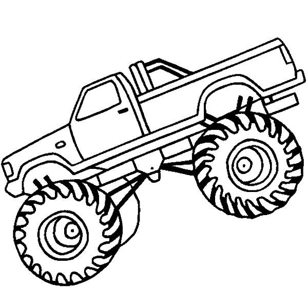 Truck Outline Drawing at GetDrawings.com | Free for personal ...