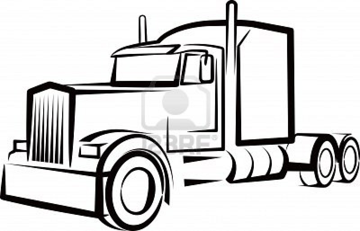 truck outline drawing at getdrawings com free for personal use rh getdrawings com semi truck clip art for job postings semi truck clipart images
