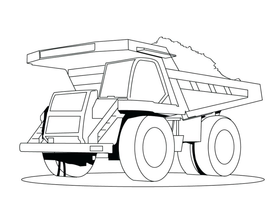 Truck Sketch Drawing
