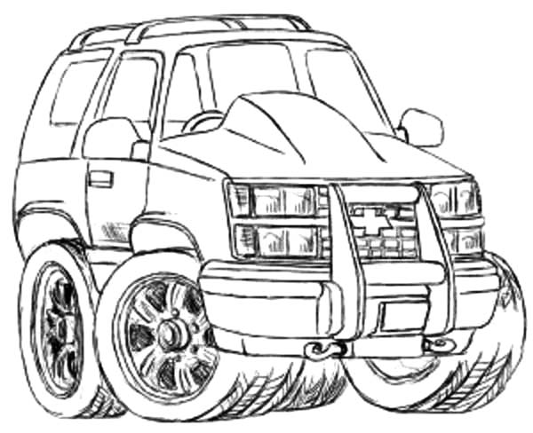 2019 Chevrolet Coloring Pages Are Fun For The Family | GM Authority | 488x600