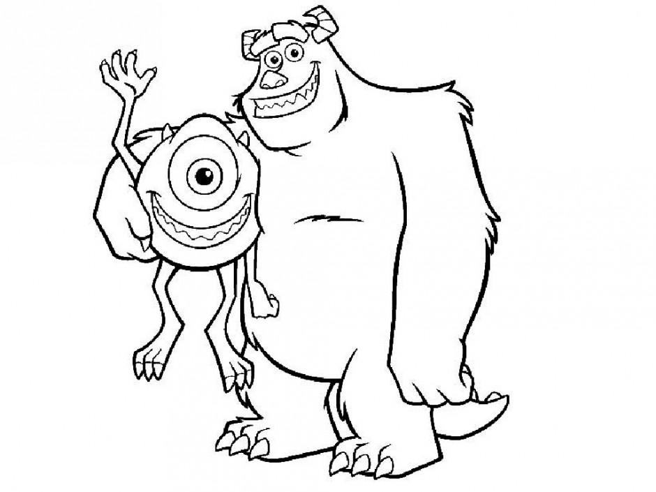 940x705 Bigfoot Truck Coloring Pages Monster Kids Az