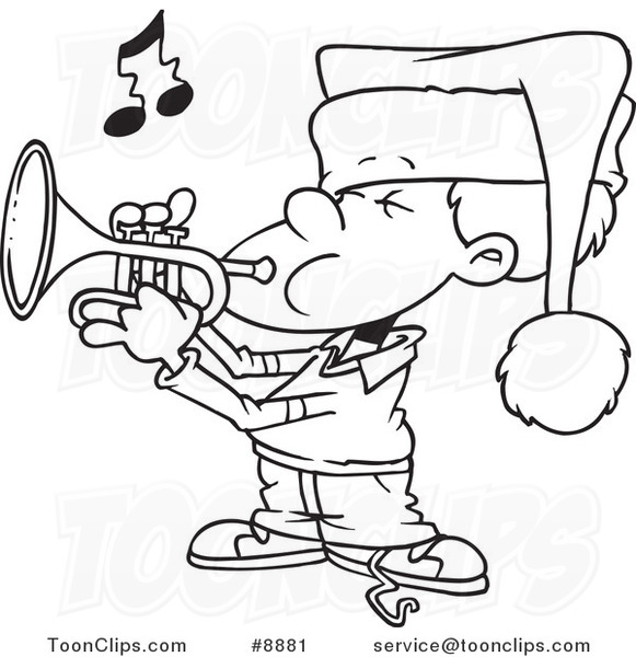 Trumpet Cartoon Drawing