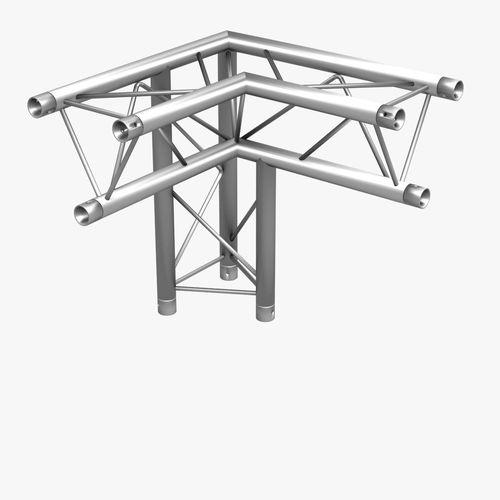 500x500 Mini Triangular Truss Collection 14 Modular Pieces 3d