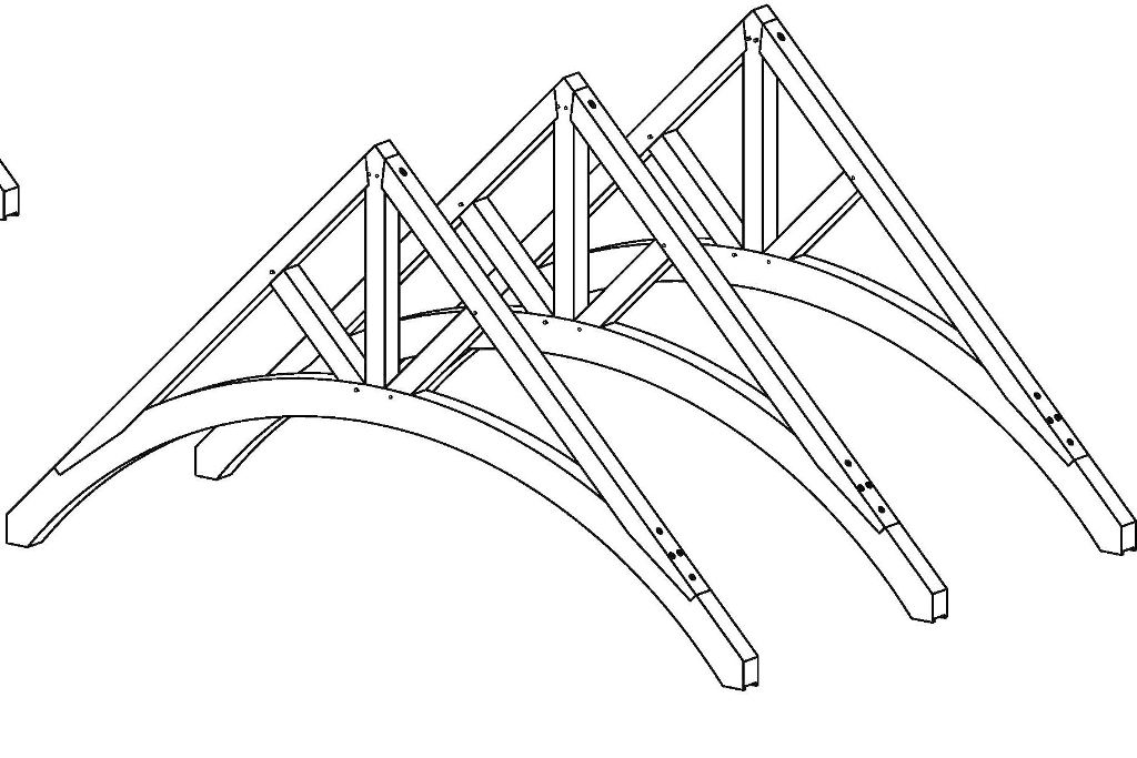 1024x683 Cool Timber Trusses