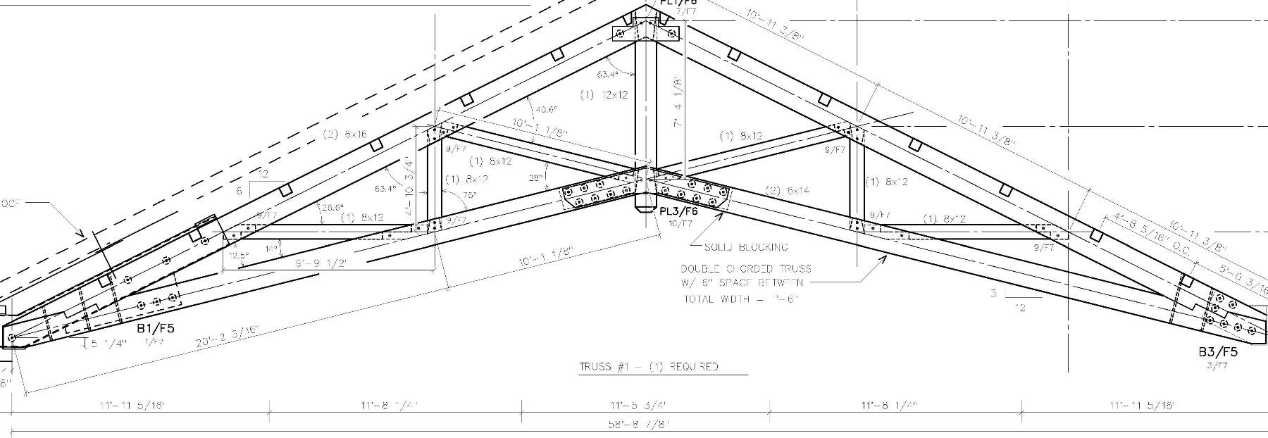 1800x622 Executive Center Scissor Trusses Timber And Steel