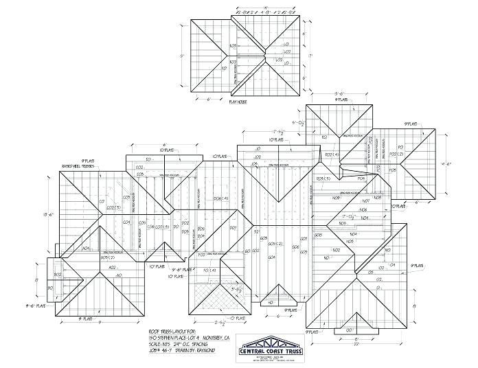 Truss Drawing At Getdrawings Free Download