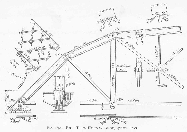 1309x923 Truss Bridge Plans And Parts