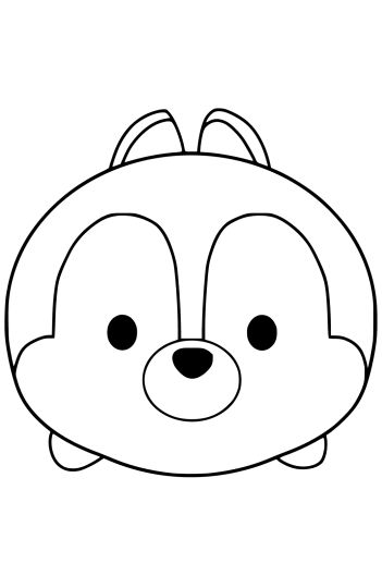 351x540 Tsum Coloring Pages