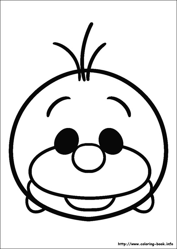 567x794 Tsum Coloring Picture