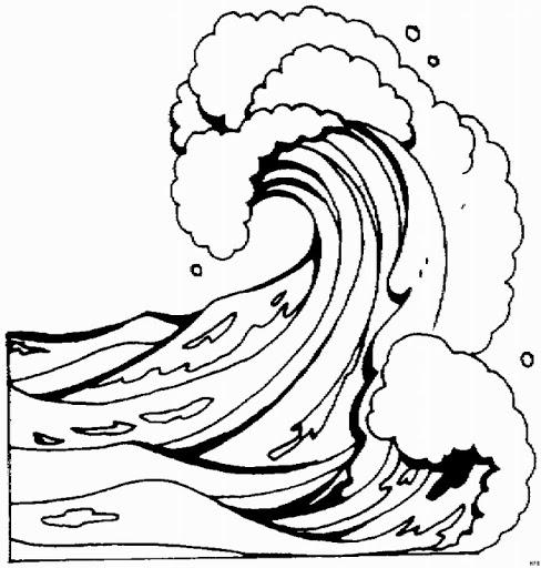 Tsunami Drawing at GetDrawings.com | Free for personal use Tsunami ...