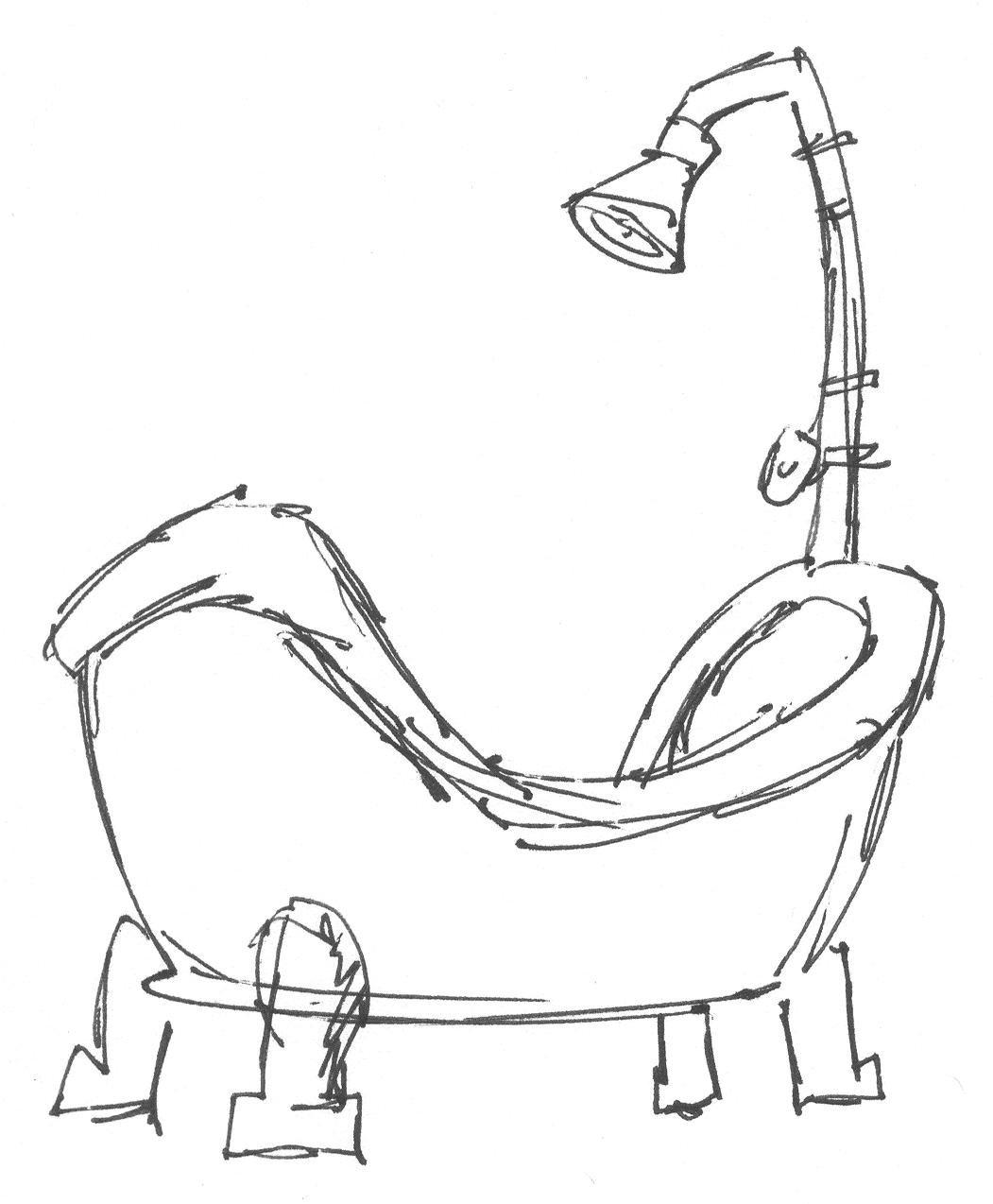 Tub Drawing