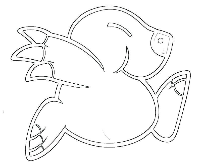 800x667 Mole Coloring Mole Funny Tubing Mole Coloring Page Genesisar.co