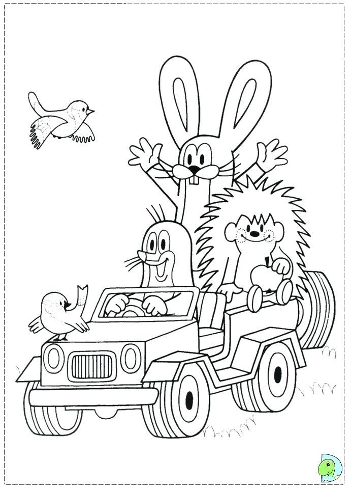 691x960 Mole Coloring Page Mole Couple Tubing Mole Rat Coloring Pages