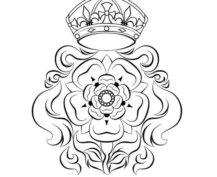 736x600 Download Yorkshire White Rose Tattoo