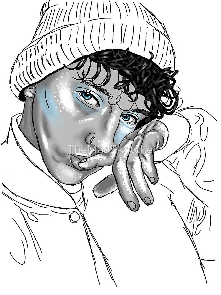 750x1000 Troye Sivan Tumblr Pretty Drawing Art By Themadsketcher Redbubble