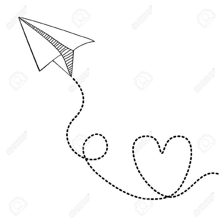 736x736 Drawn Airplane Cute