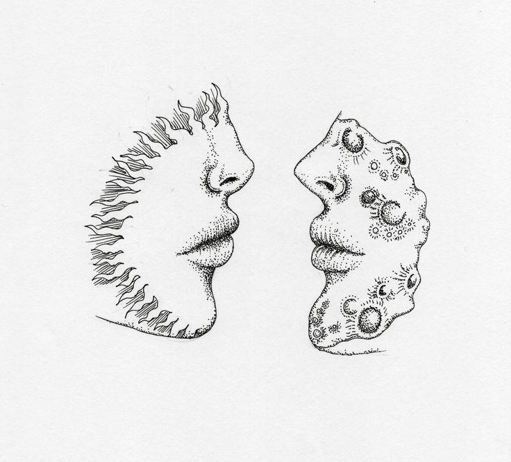 736x665 Drawn Lunar Artwork Tumblr