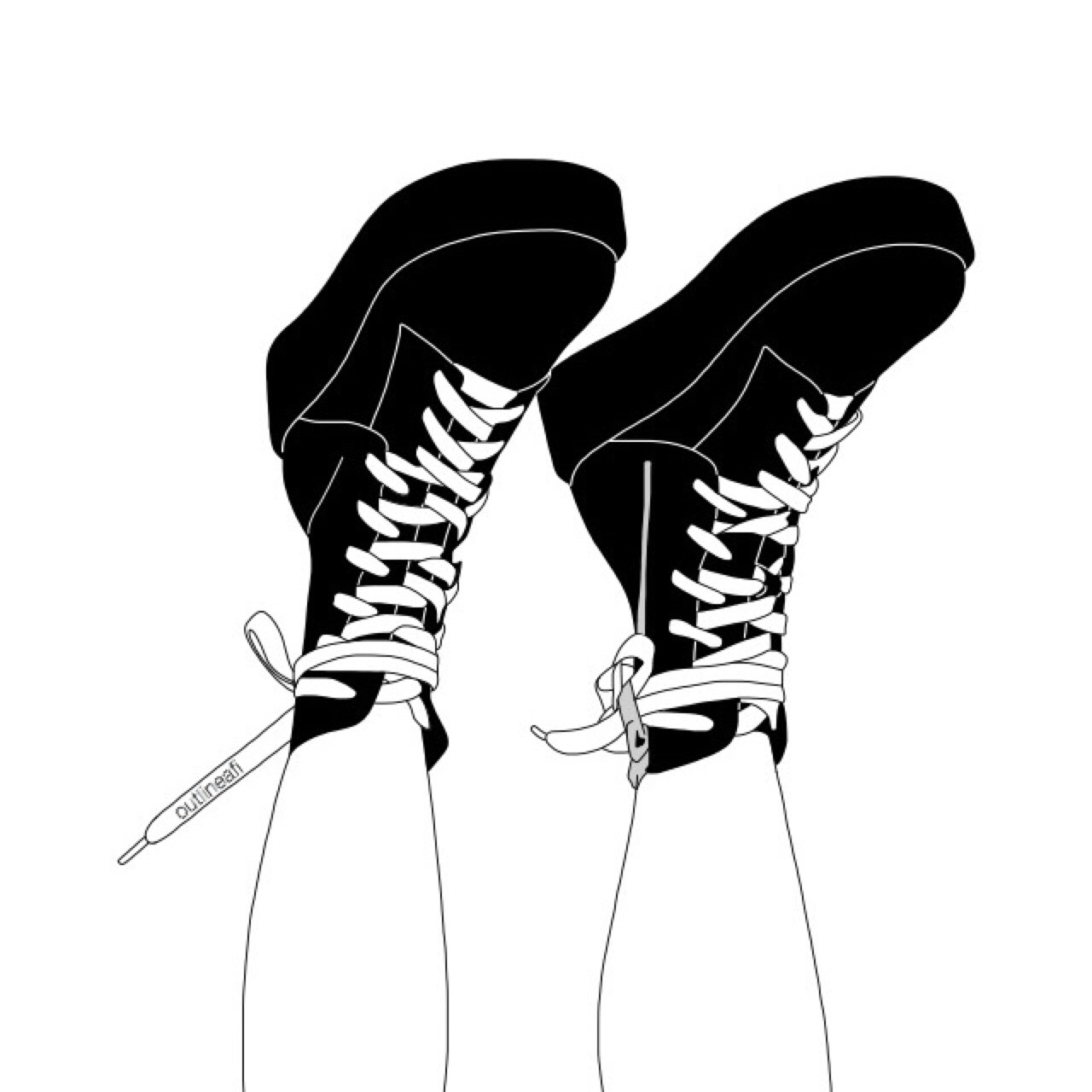 caterpillar shoes tumblr sketches grunge