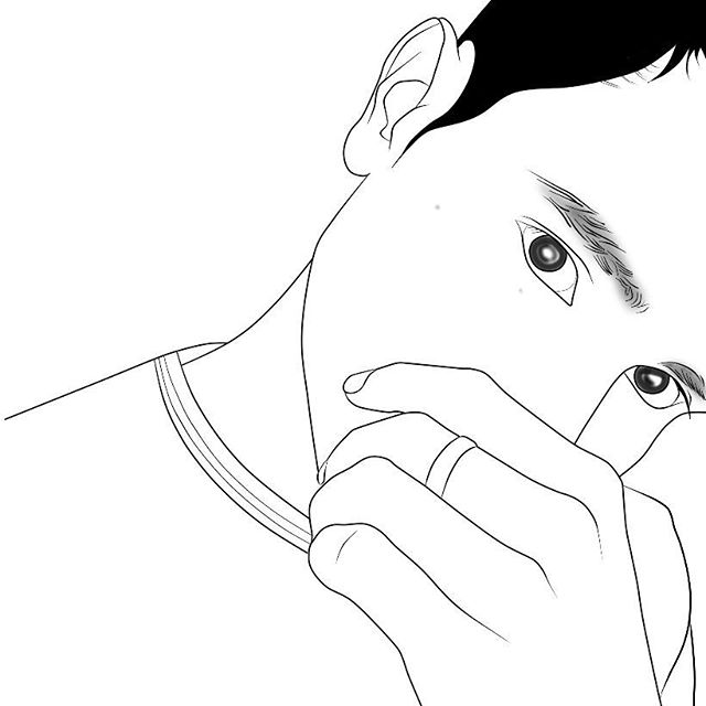 Tumblr Outline Drawing At Getdrawings Com Free For Personal Use
