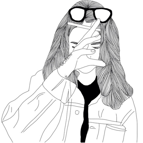 500x500 @idkimhungry13 X.o Outlines, Grunge