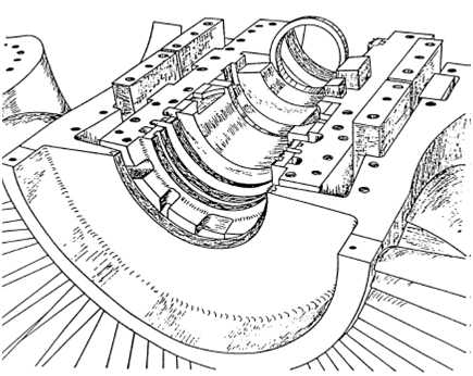 435x346 Gas Turbine Tutorials Gas Turbine Bearings
