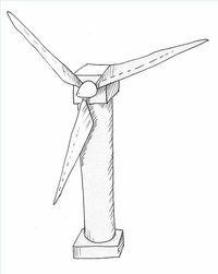 200x251 How To Make An Easy Model Of A Wind Turbine Ehow