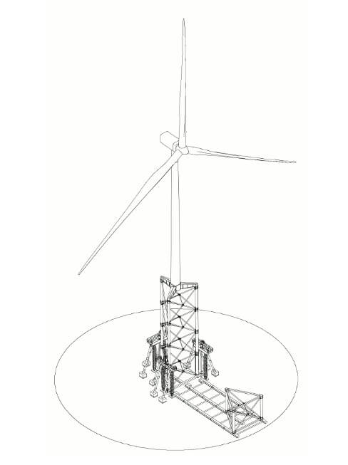 488x653 Nabralift Allows Building Tall Towers (100m And More) Without Tall