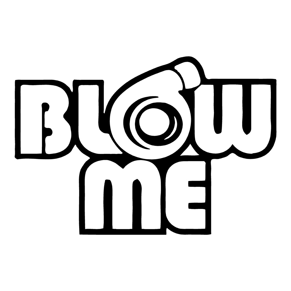 1000x1000 Blow Turbo Car Decals Funny Stickers Auto Decals