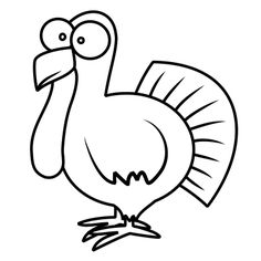 236x236 It's Almost Turkey Day Thanksgiving, Cartoon And Drawings
