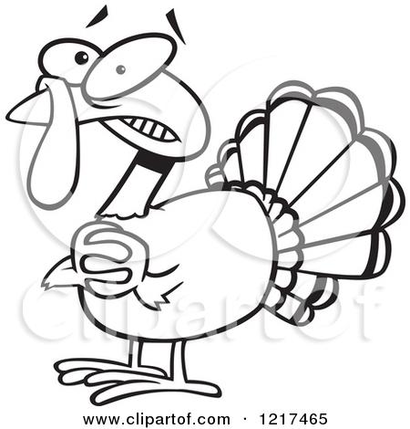 450x470 Turkey Drawings Clipart