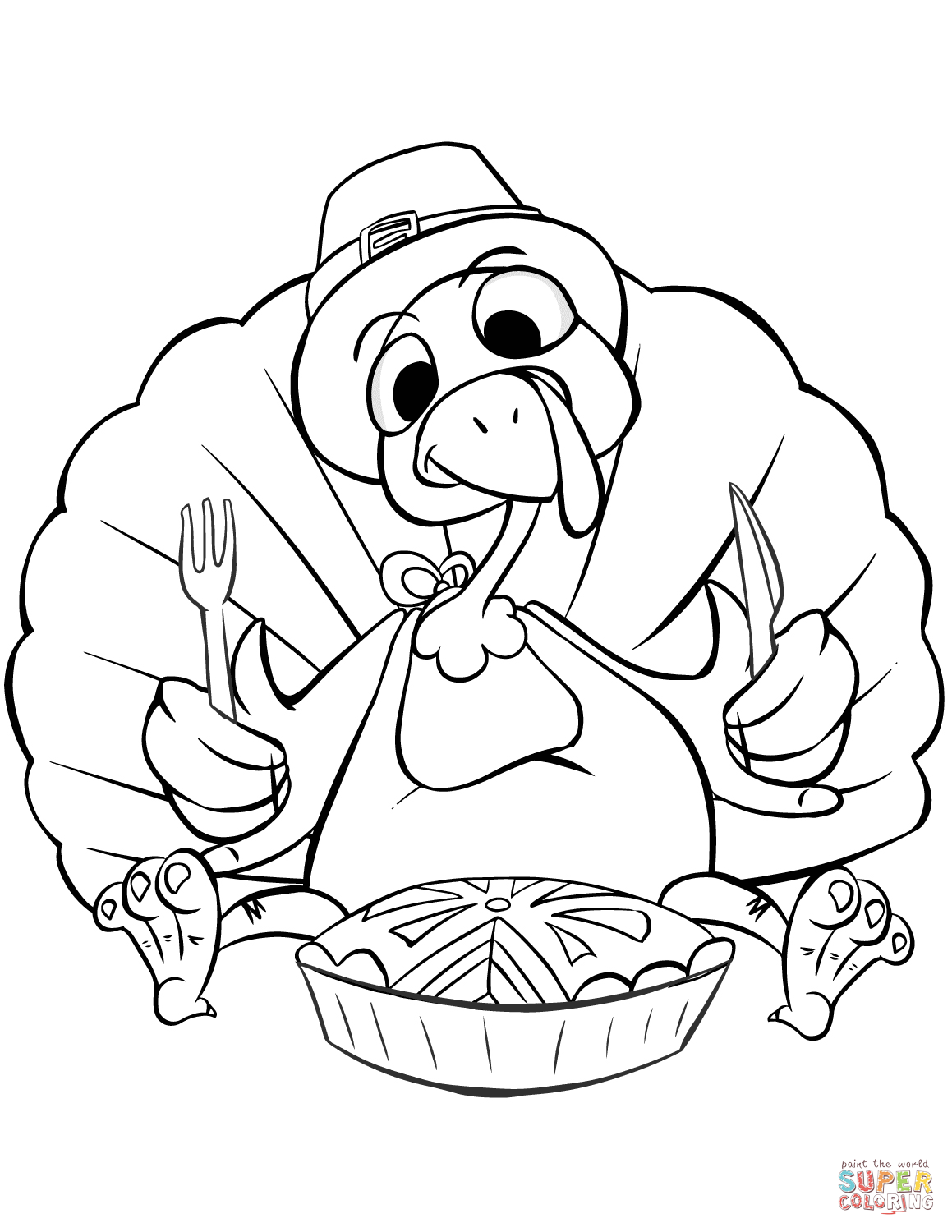 1159x1500 Thanksgiving Dinner Coloring Page Free Printable Coloring Pages