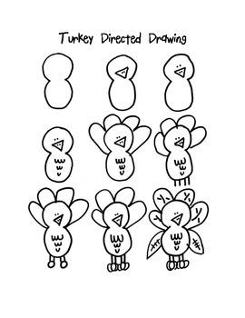 270x350 Turkey Directed Drawing By Mrs Betz Teachers Pay Teachers
