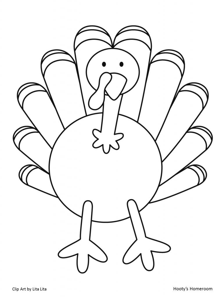 768x1024 Disguise A Turkey Clipart