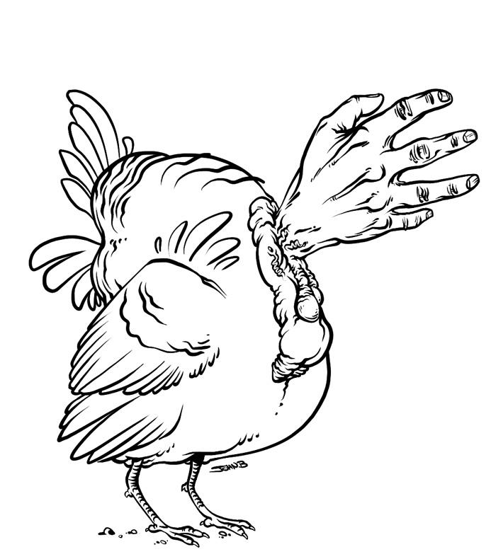 693x790 Sketch Blaargh Turkey Month